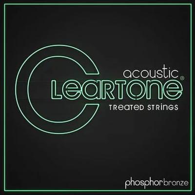 Cleartone Acoustic Treated Guitar Strings - Medium 13-56