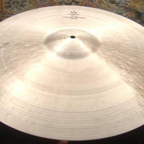 "Istanbul Mehmet 22"" Nostalgia 50s Ride Cymbal w/ Rivets"