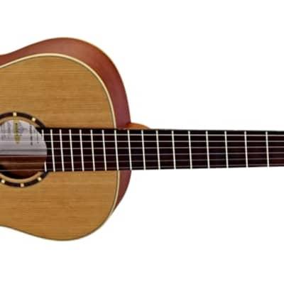 Ortega Family Series Satin 7/8 Size Acoustic Guitar Cedar for sale