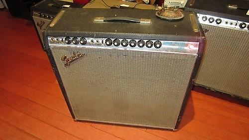Vintage Original 1968 Fender Super Reverb Silverface Drip Edge