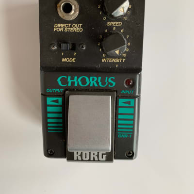 Korg CHR-1 1980s Black for sale