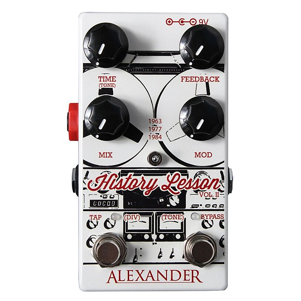 Pedals Lesson Ii Electric GuitarReverb Alexander History Delay 34RSjA5Lqc