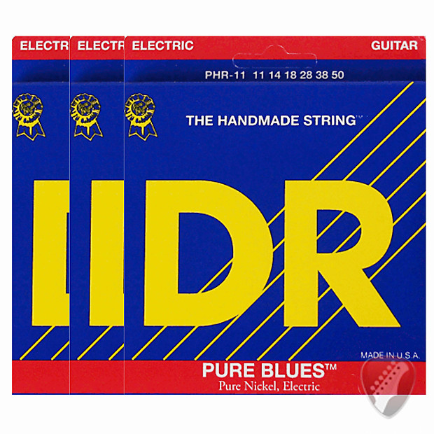 dr strings pure blues phr 11 electric guitar strings 3 pack reverb. Black Bedroom Furniture Sets. Home Design Ideas