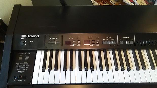 roland mkb 300 midi keyboard reverb