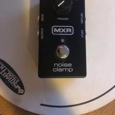 MXR M195 noise clamp noise gate pedal Black