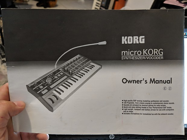 Korg Manuals  Trendy Korg X Xd Rw Synth Sound Patch Library Manual