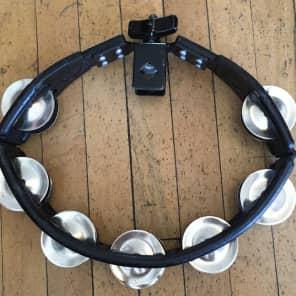 Latin Percussion LP160 Cyclops Mountable Tambourine w/ Double Row Steel Jingles