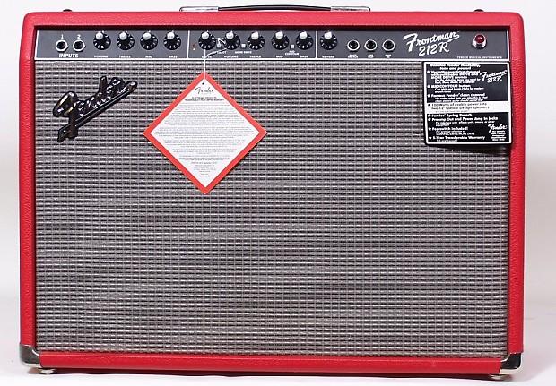 fender frontman 212r fsr limited edition red 100w 2x12 guitar reverb. Black Bedroom Furniture Sets. Home Design Ideas