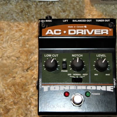Radial Radial Engineering Tonebone AC Driver Acoustic Instrument Preamp