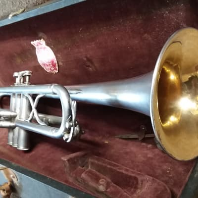 Ohio Band Company (Reynolds) Vintage 1936-7 Regent Trumpet In Excellent Condition