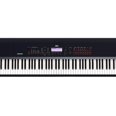 Korg KROSS 2 Synthesizer Workstation (88-Key, Black)