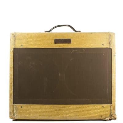 """Fender Super 5C4 Wide Panel 18-Watt 2x10"""" Guitar Combo 1953 - 1954"""