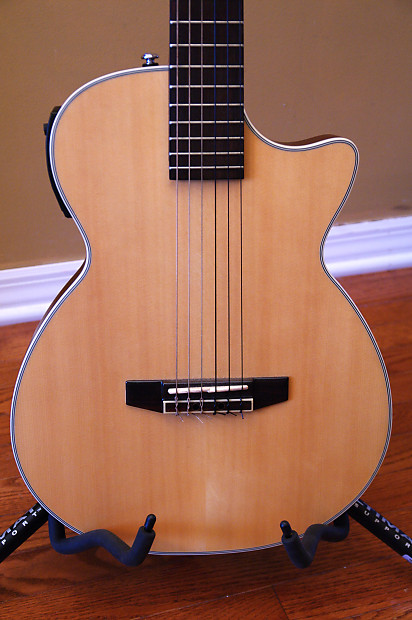 crafter ct125c n nylon string solid body electric guitar reverb. Black Bedroom Furniture Sets. Home Design Ideas