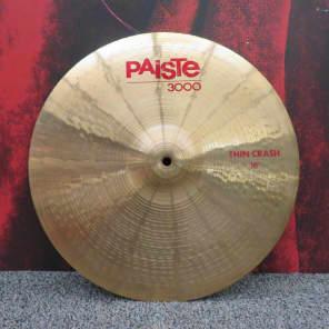 "Paiste 16"" 3000 Thin Crash Cymbal"