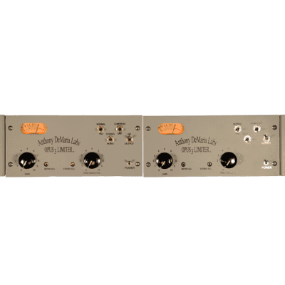 Anthony DeMaria Labs OPUS 3 Limiter Stereo Pair