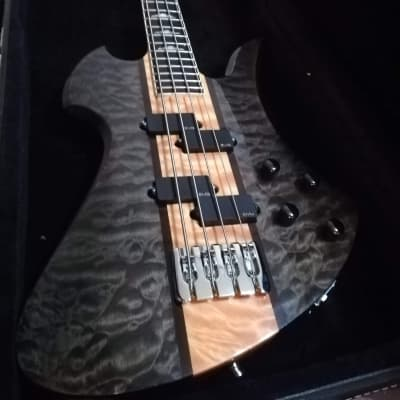 Bc Rich  Mockingbird Bass Heritage Classic   Black Smoke for sale