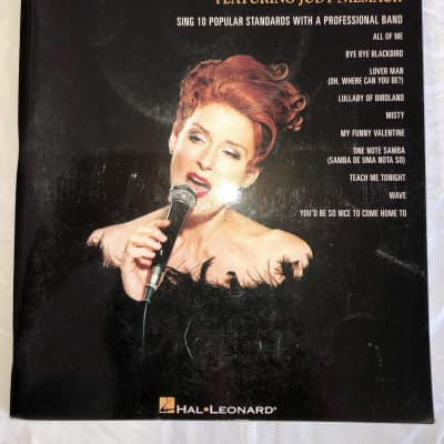 Jazz Vocal Standards Featuring Judy Niemack Vol 18 & CD Sheet Music Song Book