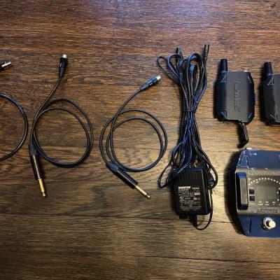 Shure GLXD1 GLXD6 2000's black