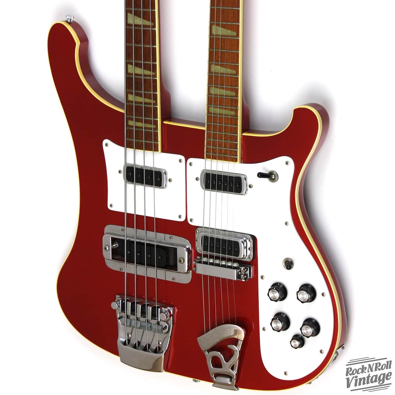 1983 rickenbacker 4080 double neck guitar bass ruby red reverb. Black Bedroom Furniture Sets. Home Design Ideas