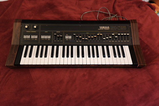 Yamaha SK15 Organ, Strings Machine, Synthesizer