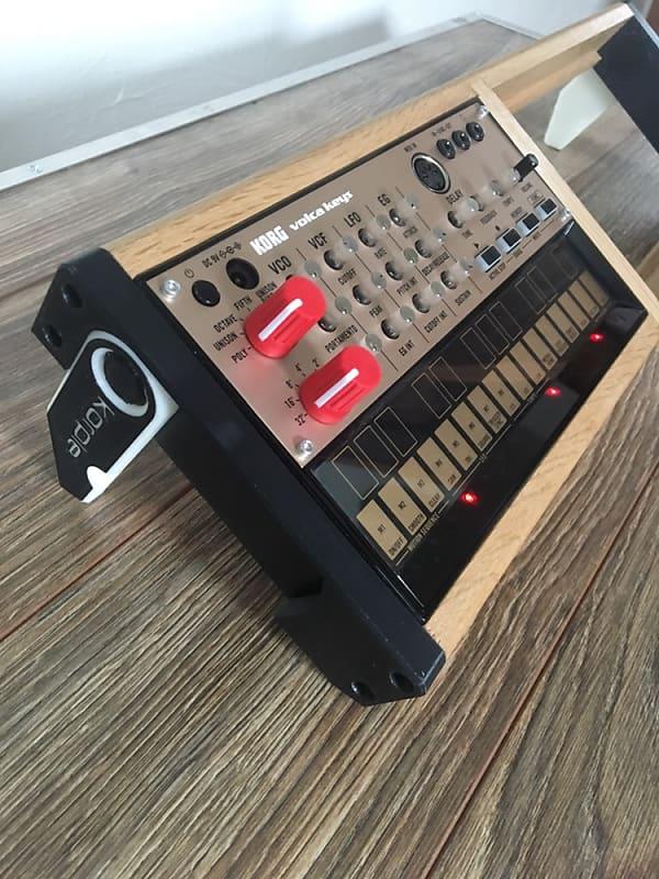 Korg Volca Dual Stand Wood Case Cheeks Reverb