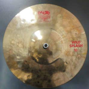 "Paiste 10"" 2002 Wild Splash Cymbal"
