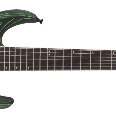 Jackson Pro Series Dinky™ DK2 Modern Ash FR7, Ebony Fingerboard, Baked Green for sale