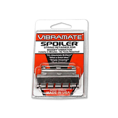 Allparts Stainless Vibramate Spoiler String Retainer for sale