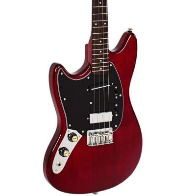 Eastwood Warren Ellis Tenor 2P LH Alder Body 4-String Tenor Electric Guitar w/Case For Lefty Players
