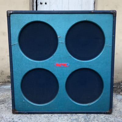Vintage 1972 Univox U4044 4x12 guitar cab  with rola Alnico and Celestion speakers for sale