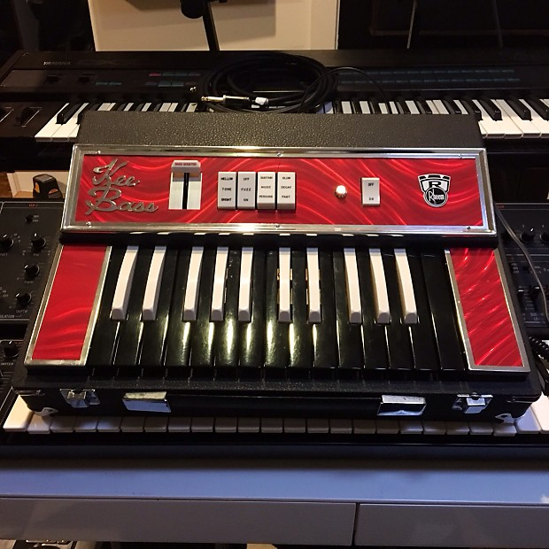 Rheem kee bass original vintage analog synth synthesizer for Classic house organ bass