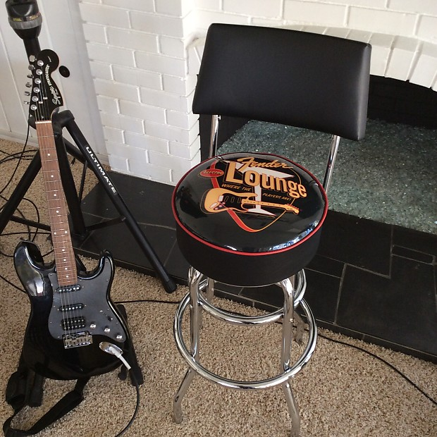 Fabulous Fender Electro Lounge 30 Bar Stool With Back Alphanode Cool Chair Designs And Ideas Alphanodeonline