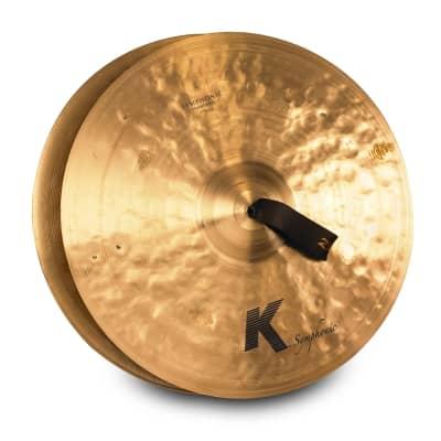 "Zildjian 17"" K SYMPHONIC TRADITIONAL SERIES - PAIR K2102 Cymbal"