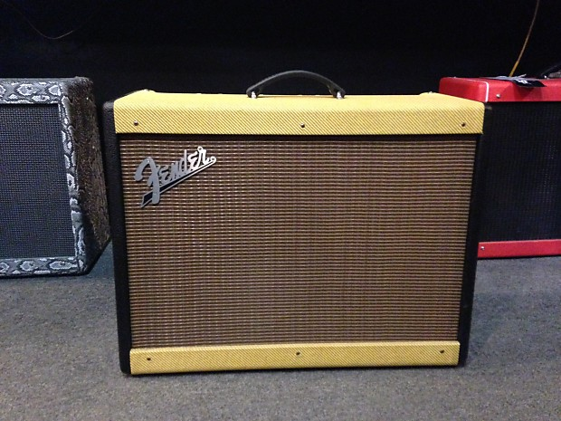 fender hot rod deluxe two tone black and tweed reverb. Black Bedroom Furniture Sets. Home Design Ideas