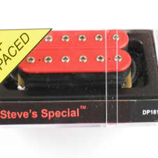 DiMarzio Steve's Special Bridge Humbucker Red W/Chrome Poles DP 161