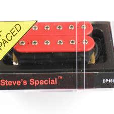 DiMarzio Steve's Special Bridge Humbucker Red W/Chrome Poles DP 161