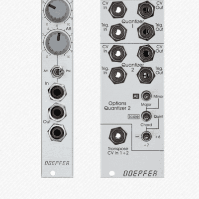 vintage edition Doepfer A156v Dual Quantizer Module