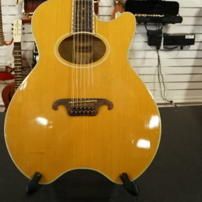 Daion  Caribou '81 Vintage 12 String Acoustic-Electric Guitar Made in Japan! w/OHSC! for sale