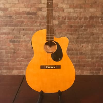 Accent Acoustic Electric Guitar Birch Body Cutaway + Pickup CS-2CE for sale