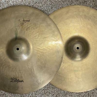 "Zildjian 18"" A Series Classic Orchestral Selection Medium Light Cymbals (Pair)"