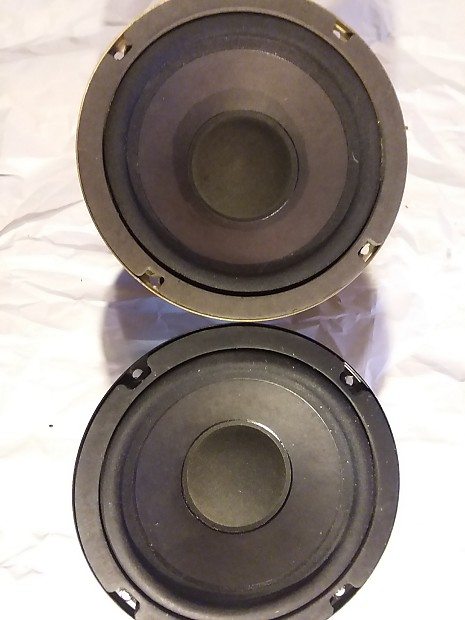 Bose Speakers For Cars >> 6 5 Speakers 6 1 2 Speakers Woofers Bose Pair Cloth Not Foam Surrounds Guitar Bass Car Hifi