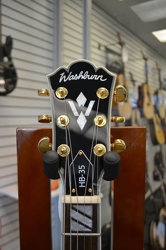 Washburn HB35 Semi-hollowbody - Natural