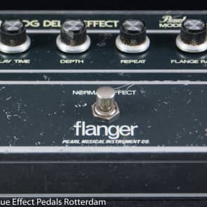 Pearl F-604 Flanger Analog Delay Effect s/n 510480 Japan with SAD1024 Reticon BBD for sale