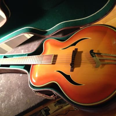 HEMOSCH German-Carve Archtop Jazz Guitar (1958) for sale