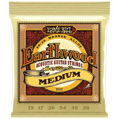 Ernie Ball Earthwood 80/20 Bronze Acoustic Medium 2002 .013-.056
