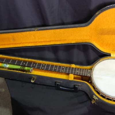 Vintage 1963 Gibson USA RB-175 Long Neck 5-string Pete Seeger Banjo w/HSC for sale