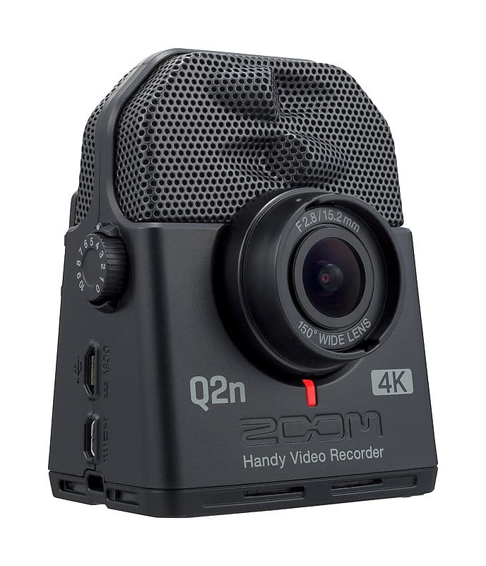 Zoom Q2n-4K Handy Video Recorder/ Camera for Musicians