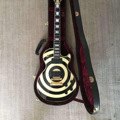 Gibson Zakk Wylde Les Paul Custom 2001 Custom Bullseye for sale