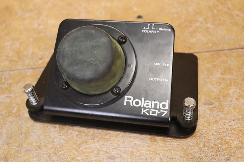 roland kd 7 electronic drum set bass drum trigger reverb. Black Bedroom Furniture Sets. Home Design Ideas