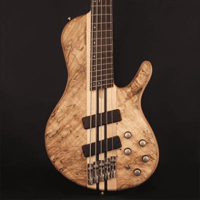 Cort Artisan Series A5PLUS 5-String Multi Scale Bass, Natural Finish w/ Case A5PLUSSCMSOPN